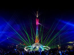 广州塔灯光节