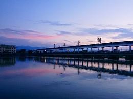 墨江平湖 ▏火烧云