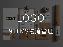 91TMS 物流管理LOGO