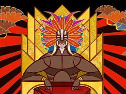 《基里尼亚加》与《上帝图书馆》封面插图