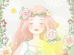 季夏-原创手绘手机主题