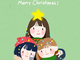 圣诞快乐~ 我们来组成一颗最美的圣诞树吧