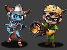 塔防城建类游戏の角色