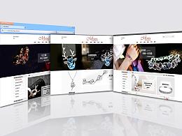 网页设计-饰品