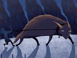 云朵工厂#说晚安吧#让我用插画,跟你说一句,晚安 第七更