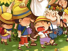 《儿童文学经典》系列插图