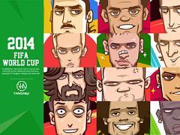 2014世界杯球星