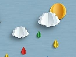 comic天气图标临摹