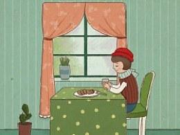 阴雨天的下午茶