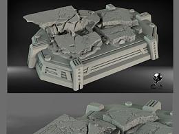 泰坦工作室雕像作品