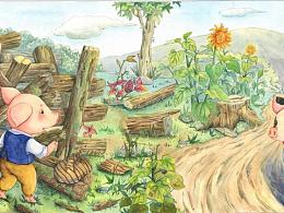 童书-三只小猪(商用)