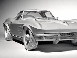 雪佛兰/克尔维特C2_StingRay(1963)