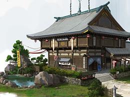 日式建筑设计附步骤图及细节刻画