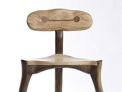 【木器美】大白靠背椅——夏夏