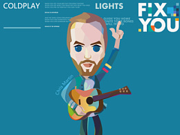 Coldplay-Fix you 手机壁纸