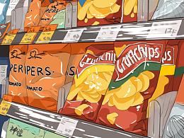 涂涂画画——吃吃喝喝篇
