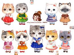 【第一期】穿小裙子的芭比喵喵们