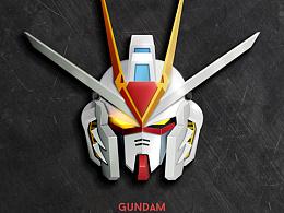 Day40- 每日设计Gundam Freedom Strike 强袭自由高达