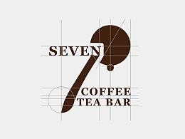 《小7咖啡茶秀吧》品牌形象VI设计