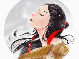 雪染眉宇,不远万里。