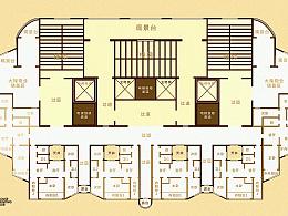 建筑内部结构图一枚