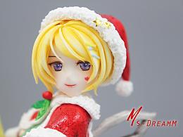 MsDreamm「圣诞奥利安娜」手办 英雄联盟周边模型