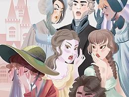 百词斩poster项目插画-2