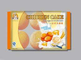 鸡蛋糕包装设计-小设鬼品牌策划