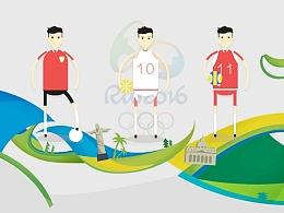 激情奥运,人物场景概念作品/人物设计规范