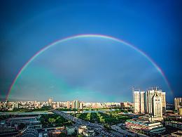 【龙城醉梦】雨后双虹