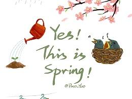春夏秋冬(4图)