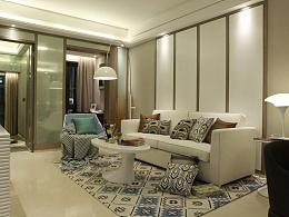 让生活回归原点 流塘阳光现代简约样板房设计