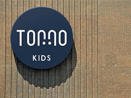 TONNO童装logo设计