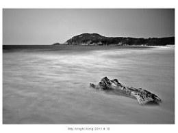2011410深圳东冲海滩