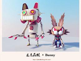 Bunny大戰激萌鐵貓_龍虎花猴&Furyanimals