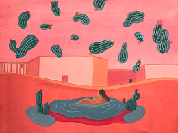 I wake from a Cactus Rain