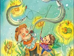 儿童杂志封面,商用