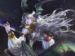 元素动力冯伟——Dark Swordsmen黑剑士