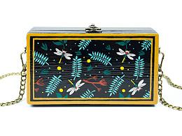 《等春来》~手艺盟原创手绘木质手工包包