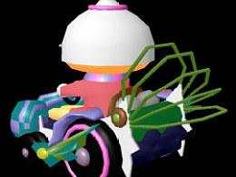 仿跑跑卡丁车模型MAYA练习