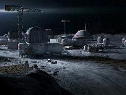 《觉醒》月球实验基地  概念设计