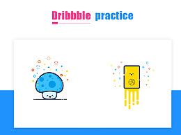 临摹-Dribbble作品