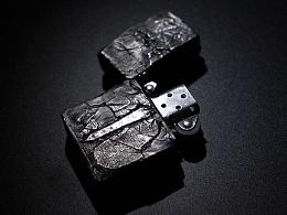 [零十原创]剑.峭 纯银ZIPPO打火机