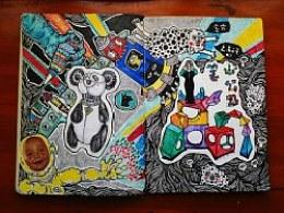 【旅行与绘画】跟我一起旅行的本子(四)