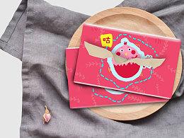 包装设计之—咕咕鸡印花纸
