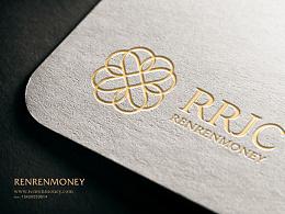 RRJC人人聚财金融理财品牌形象设计