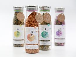 花尚-花草茶品牌包装设计