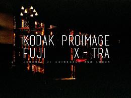 爱丁堡,考文垂,伦敦/Fuji X-tra 400和Kodak Proimage 100
