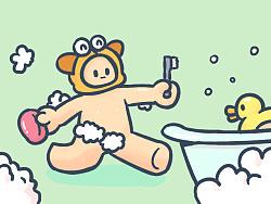 【表情×正经人】浴室篇