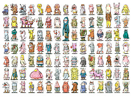 【异兽圈】+200个卡通小人